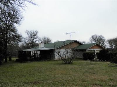 Bastrop Single Family Home Pending - Taking Backups: 323 Creek Loop Rd