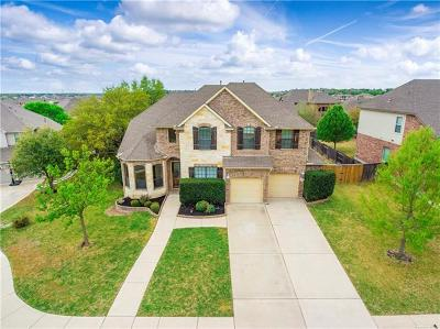 Leander Single Family Home For Sale: 1821 Wolf Dancer