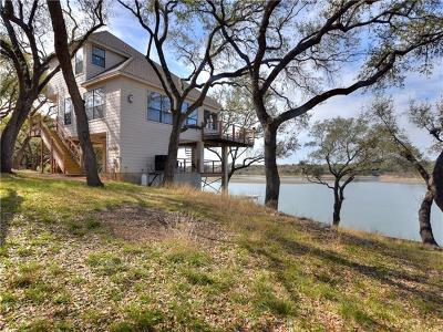 Spicewood Single Family Home For Sale: 1352 Lake Shore Dr