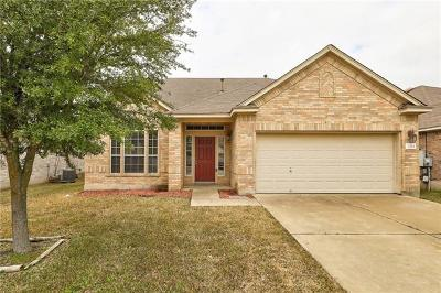 Pflugerville Single Family Home Pending - Taking Backups: 3304 Winding Shore Ln