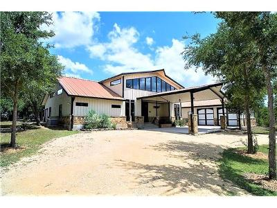 Lockhart TX Single Family Home For Sale: $625,000