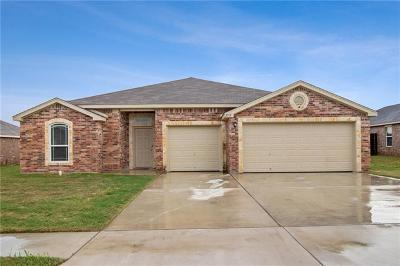Copperas Cove Single Family Home For Sale: 2717 Settlement Rd