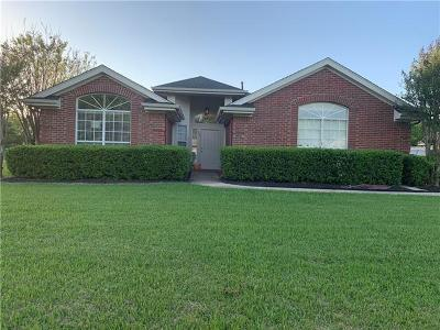 Georgetown Single Family Home Pending - Taking Backups: 170 Tanner Cir