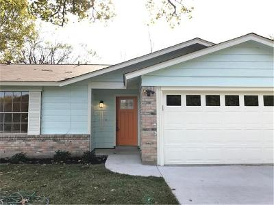 Austin Single Family Home For Sale: 11636 Parkfield Dr