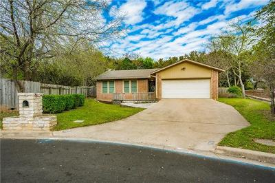 Austin Single Family Home For Sale: 1201 Dusky Thrush Trl