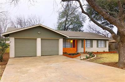 Round Rock Single Family Home For Sale: 606 E Oak Dr