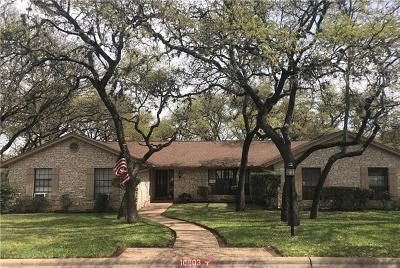Austin Single Family Home Pending - Taking Backups: 10803 NW Bonaparte Bnd NW