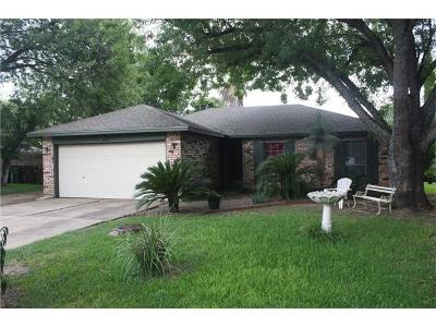Round Rock Single Family Home Pending - Taking Backups: 1107 Long Meadow Dr