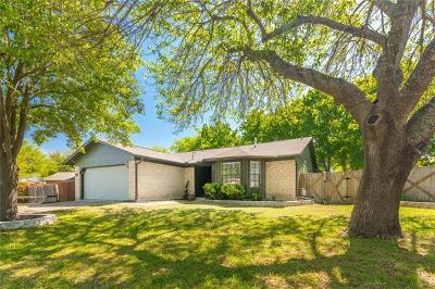 Round Rock Single Family Home Pending - Taking Backups: 2201 Spring Breeze Dr