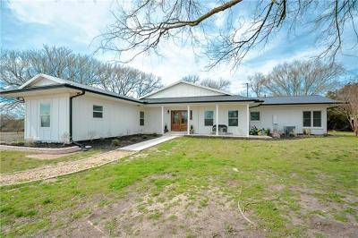 Temple Single Family Home For Sale: 3802 Gun Club Rd
