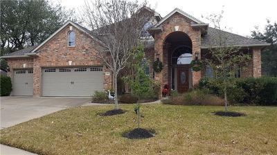 Cedar Park Single Family Home For Sale: 2902 Wanakah Ridge Cv