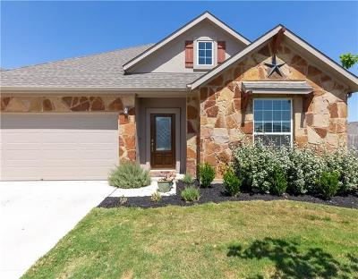 Round Rock Single Family Home For Sale: 7961 Bassano Dr