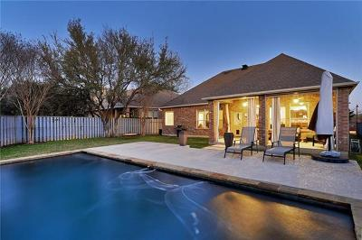 Round Rock Single Family Home For Sale: 2279 Park Place Cir
