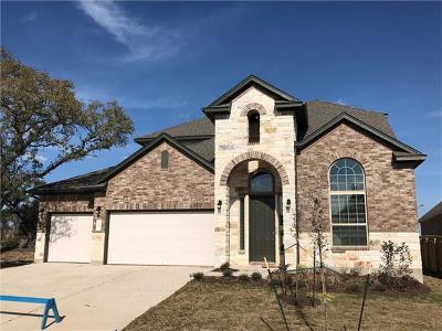 Leander Single Family Home For Sale: 109 Redtail Ln