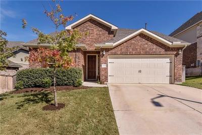 Leander  Single Family Home For Sale: 2304 Abilene Ln