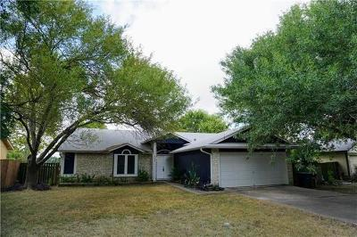 Austin Single Family Home For Sale: 9133 Texas Sun Dr
