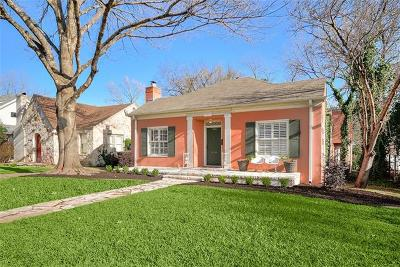 Austin Single Family Home For Sale: 1508 W 29th St