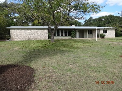 Austin Single Family Home For Sale: 5611 Oak Blvd