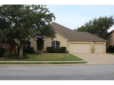 Round Rock Single Family Home Pending - Taking Backups: 3237 Goldenoak Cir