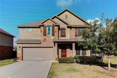 Hutto Single Family Home For Sale: 1023 N Ash Cv
