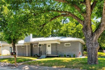Burnet County Single Family Home For Sale: 601 N Pierce St