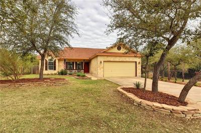 Dripping Springs Single Family Home For Sale: 10810 Wildwood Cir