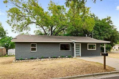Georgetown Single Family Home For Sale: 601 W 4th St