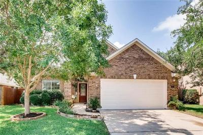 Cedar Park Single Family Home For Sale: 105 Arrowhead Trl