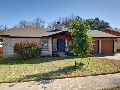 Hays County, Travis County, Williamson County Single Family Home For Sale: 8203 Seminary Ridge Dr