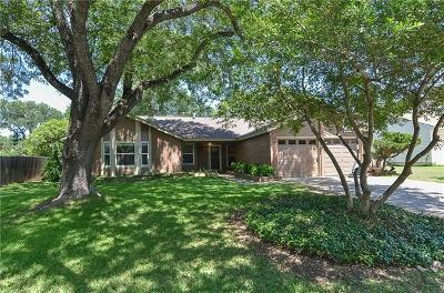 Round Rock Single Family Home For Sale: 1701 Rock Creek Dr