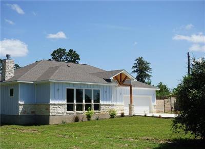 Bastrop Single Family Home Pending - Taking Backups: 160 S Buckhorn Dr