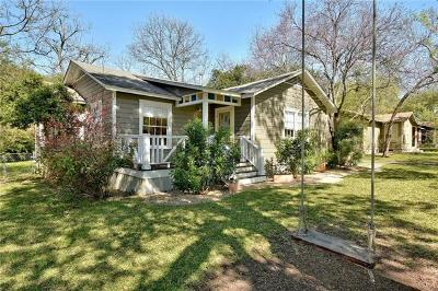 Austin Single Family Home For Sale: 5612 Bull Creek Rd