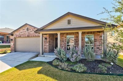 Leander  Single Family Home For Sale: 424 Tula Trl