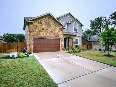 Round Rock Single Family Home For Sale: 3938 Sansome Ln