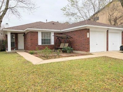 Travis County, Williamson County Single Family Home Pending - Taking Backups: 9705 Dalewood Dr