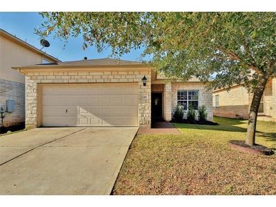 Leander Single Family Home For Sale: 248 Housefinch Loop