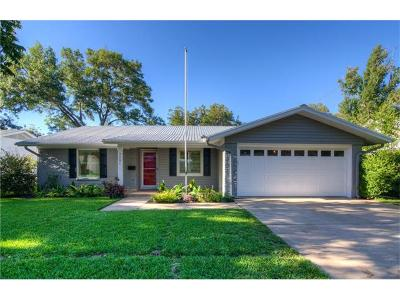 Austin Single Family Home For Sale: 3201 McElroy Dr