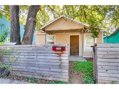 Single Family Home For Sale: 2203 Santa Rita St