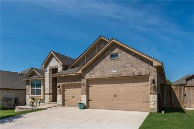 Leander Single Family Home For Sale: 2100 Tribal Way