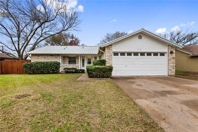 Round Rock Single Family Home For Sale: 2110 Meadow Brook Dr