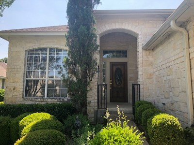 Round Rock Single Family Home For Sale: 4015 Sable Oaks Dr