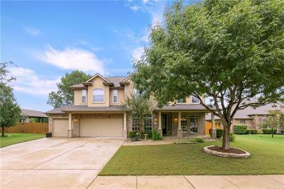 Round Rock Single Family Home Active Contingent: 3713 Lagoona Dr