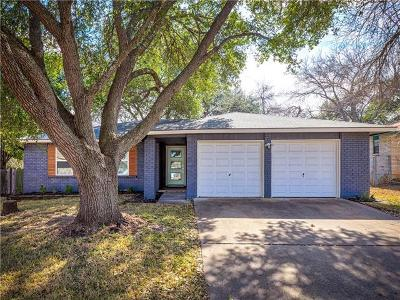 Austin Single Family Home Pending - Taking Backups: 2805 Cornish Cir