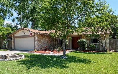 Travis County, Williamson County Single Family Home For Sale: 12301 Old Stage Cv