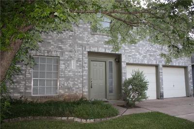 Round Rock Single Family Home For Sale: 2006 Buckeye Ln