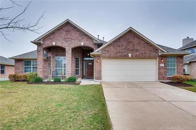 Kyle Single Family Home Active Contingent: 267 Amber Ash Dr