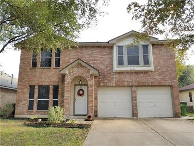 Single Family Home For Sale: 1805 Hollow Tree Blvd