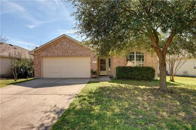 Round Rock Single Family Home For Sale: 206 Chandler Crossing Trl