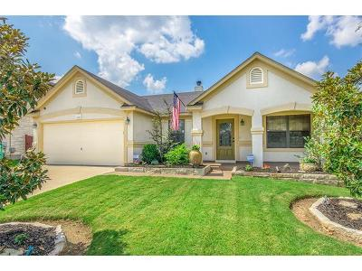 Leander Single Family Home Pending - Taking Backups: 2213 Lauren Loop