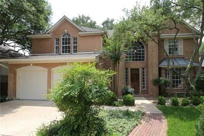 Austin Single Family Home For Sale: 6401 Clairmont Dr